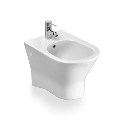 bidet roca roca nexo wall hung bidet uk bathrooms