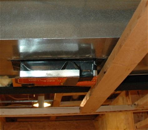 framing around ductwork when finishing your basement
