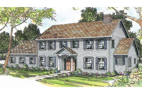 Colonial House Plan by Colonial House Plans Kearney 30 062 Associated Designs