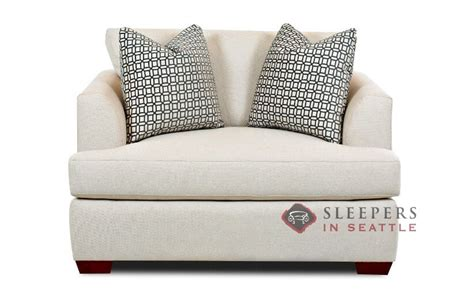 Savvy Sleepers by Customize And Personalize Berkeley Chair Fabric Sofa By