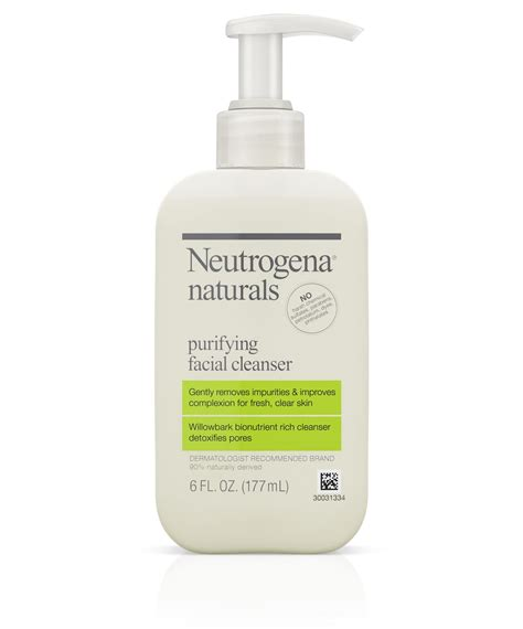 Toner Neutrogena naturals purifying cleanser neutrogena 174