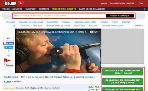 descargar youtube te ense 241 amos c 243 mo descargar videos de youtube gratis