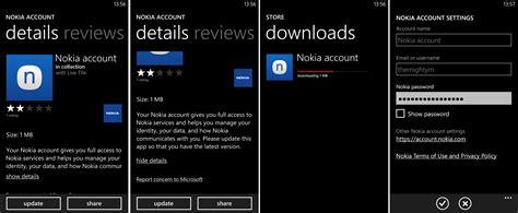 Nokia Account | dostupna nova verzija nokia account aplikacije za wp8
