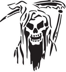printable grim reaper pumpkin stencils tribal skull stencil cake ideas and designs
