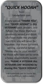 day thank you message veterans day message leadertank