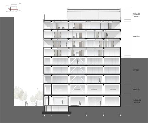 section office summa head office building avcı architects