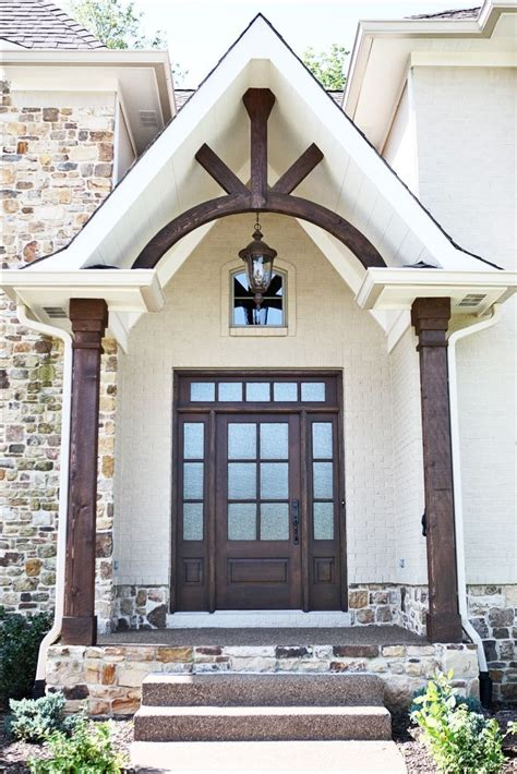 beam x front of house 25 best ideas about rustic front doors on pinterest