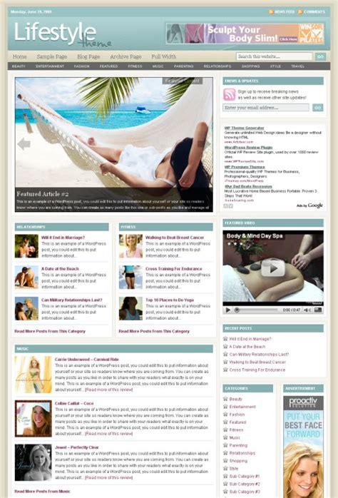 theme wordpress lifestyle lifestyle pro theme review studiopress good