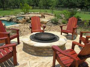 Patio fire pit affordable swimming pool builder in katy