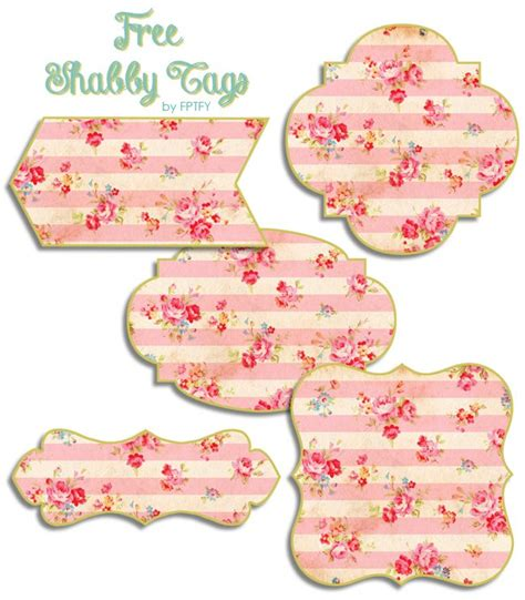 free shabby floral printable tags printable 8 5 x 11 enlarge image and save or you could save