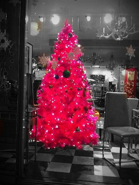 cute and beautiful chriatmas tree for living room design