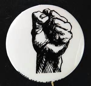 lot detail 1 188 cell black power fist cause button