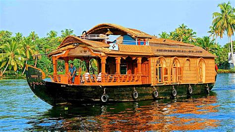 boat house in goa beautiful alleppey houseboat kerala india youtube