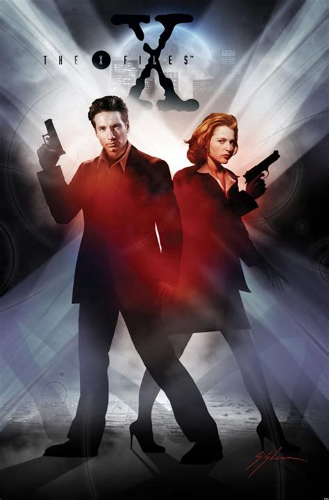 x files the x files returns with season 10 comic book series huffpost