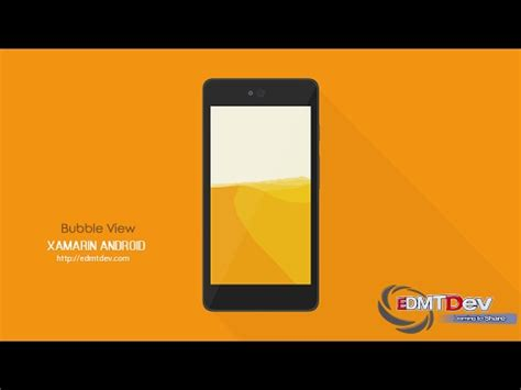 xamarin layout scrollable xamarin android tutorial bubble view youtube