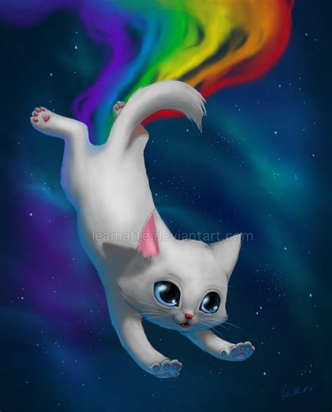 cat wallpaper deviantart nyan cat by leamatte on deviantart