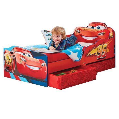 Disney Cars Bed by Disney Cars Lightning Mcqueen Junior Toddler Bed With
