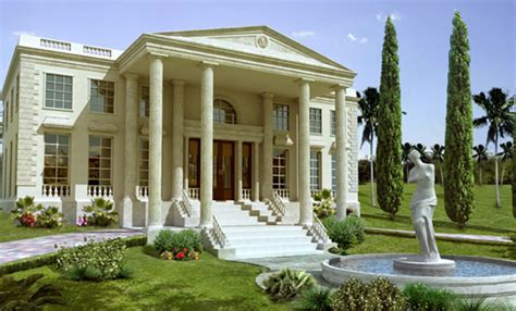 greek style homes greek style house home design