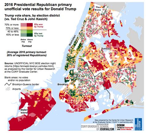 new york election results 2016 map county results live fun maps nyc primary election results mapped for