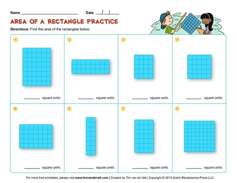Area Worksheet by Area And Perimeter Worksheets Third Grade Math Worksheets