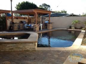 Backyard Bbq Area Outdoor Living Design Patio Covers Outdoor Kitchens Los