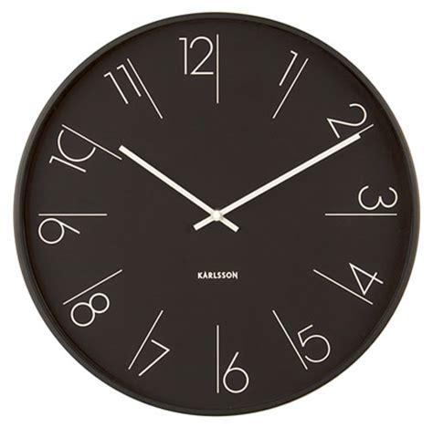 Uhr Karlsson karlsson ka5607bk wanduhr bei uhren4you de