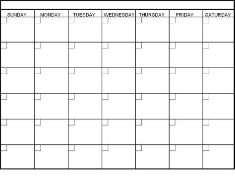 blank monthly calendar template word fill in printable calendar blank monthly calendar template
