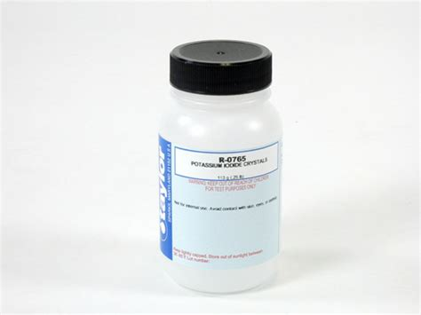 Shelf Of Potassium Iodide by Buy Potassium Iodide Crystals 113g R 0765 J