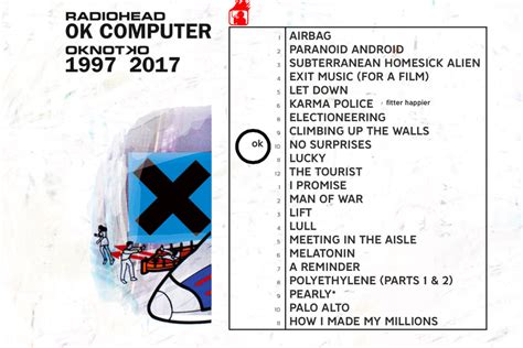 Radiohead Ok Computer Oknotok 1997 2017 2cd 2017 radiohead restores the 1997 version of its website for ok computer remaster the verge
