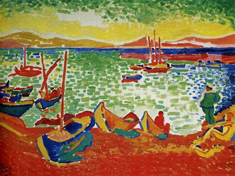 andre derain boats in the port of collioure my free wallpapers artistic wallpaper andre derain