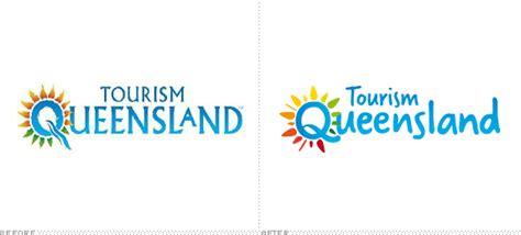 logo qld brand new tourism queensland
