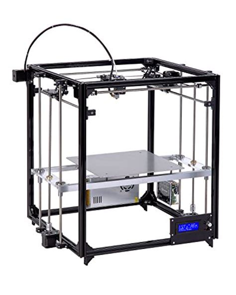 Diy 3d Tronxy Y Axis Heat Bed Support Acrylic 7mm diy 3d printer kit square metal large printing size 260x260x350 with auto level heated bed