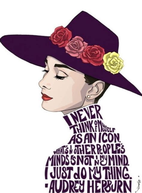 Fashion Illustration Quotes Hepburn Fan 28758062 Fanpop