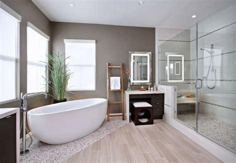 master badezimmer layout ideen kreative ideen f 252 r den boden im bad