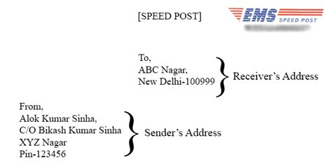 letter address format india all for students best way to write an address on indian