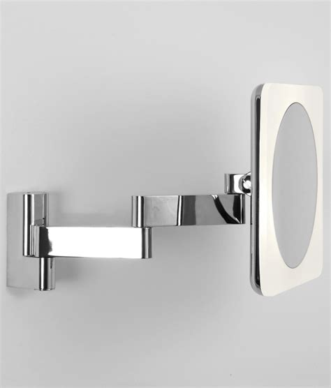 adjustable bathroom wall mirrors chunky framed square vanity mirror 230mm