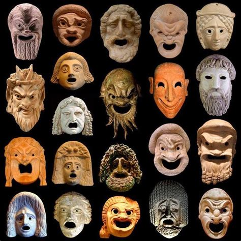 ancient greek mask template ancient mask template free template design