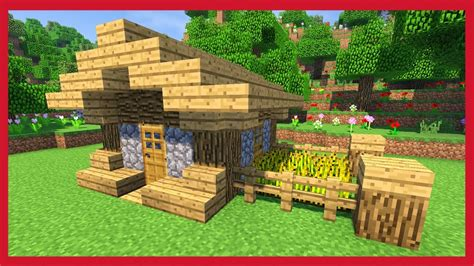 minecraft come costruire una casa minecraft come costruire una piccola casa compatta