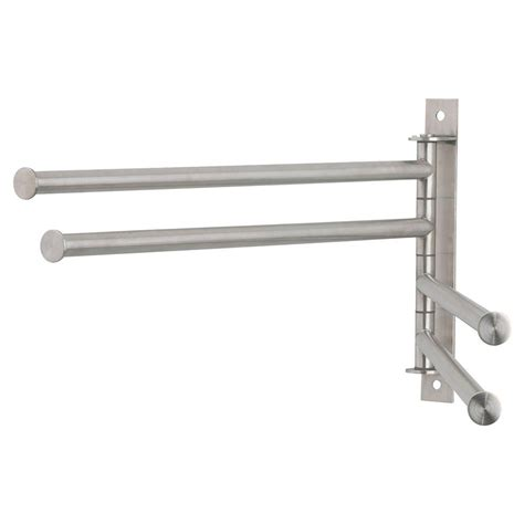 everbilt 4 bar clothes dryer in stainless steel 20854