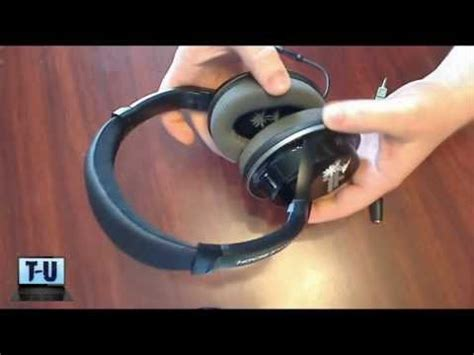 Headset Gaming Turtle Ear M5 how to take turtle ear pads how to make do everything
