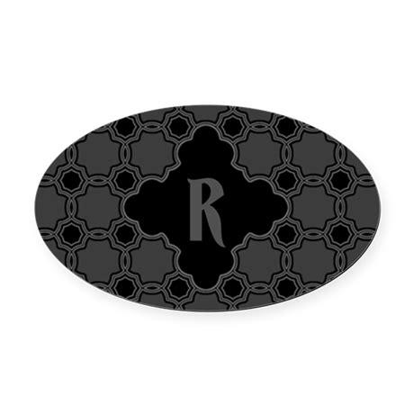 quatrefoil pattern png monogram gothic quatrefoil pattern oval car magnet by