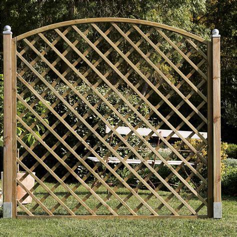 panneaux treillis bois panneau bois treillis jardin