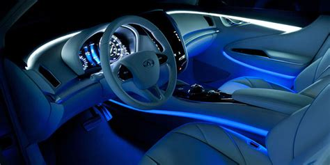 led light strips for car interior interior led lighting fancygens