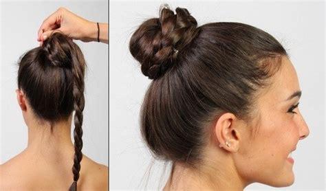 15 braided updo hairstyles tutorials photos high bun hairstyles for medium hair black