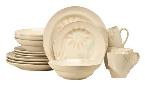 cuisinart sunflower dinnerware 16 piece set xl ebay