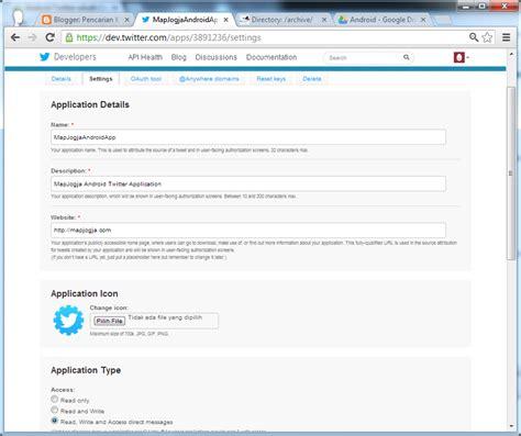 membuat aplikasi twitter tutorial pemrograman dan source code android web mobile