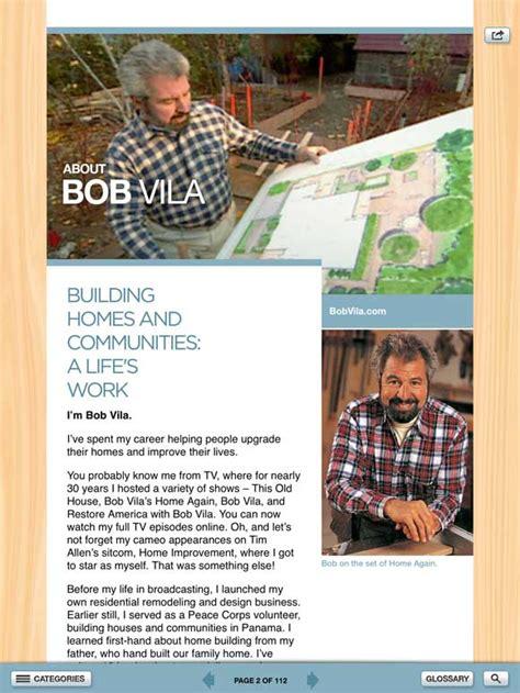 bob vila s home design download bob vila s toolbox app for the ipad