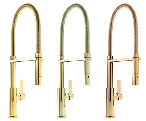 gold tone kitchen faucet finishes qualified remodeler