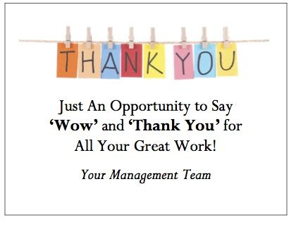 thank you letter to for reward employee recognition quotes amazing appreciation quotes
