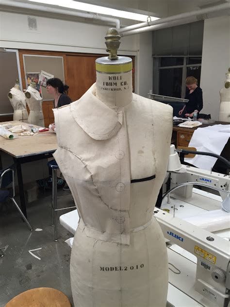 dress design draping and flat pattern making male pattern boldness beginning of the end draping class